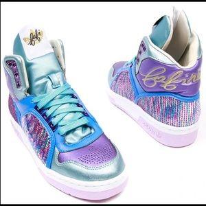 Adidas Originals X Fafi high top sneakers sequin